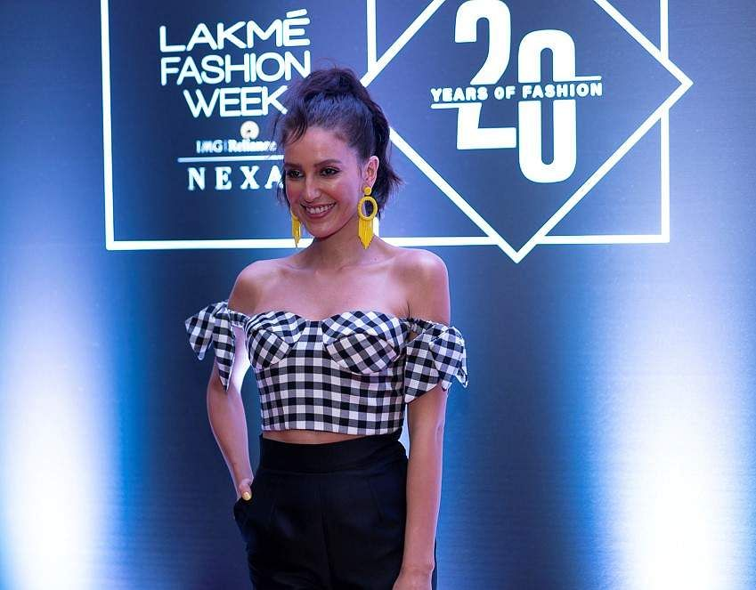 Pic_2-_Face_of_Lakmé_-_Actress_Isabelle_Kaif_at_Lakmé_Fashion_Week_20_years'_celebration