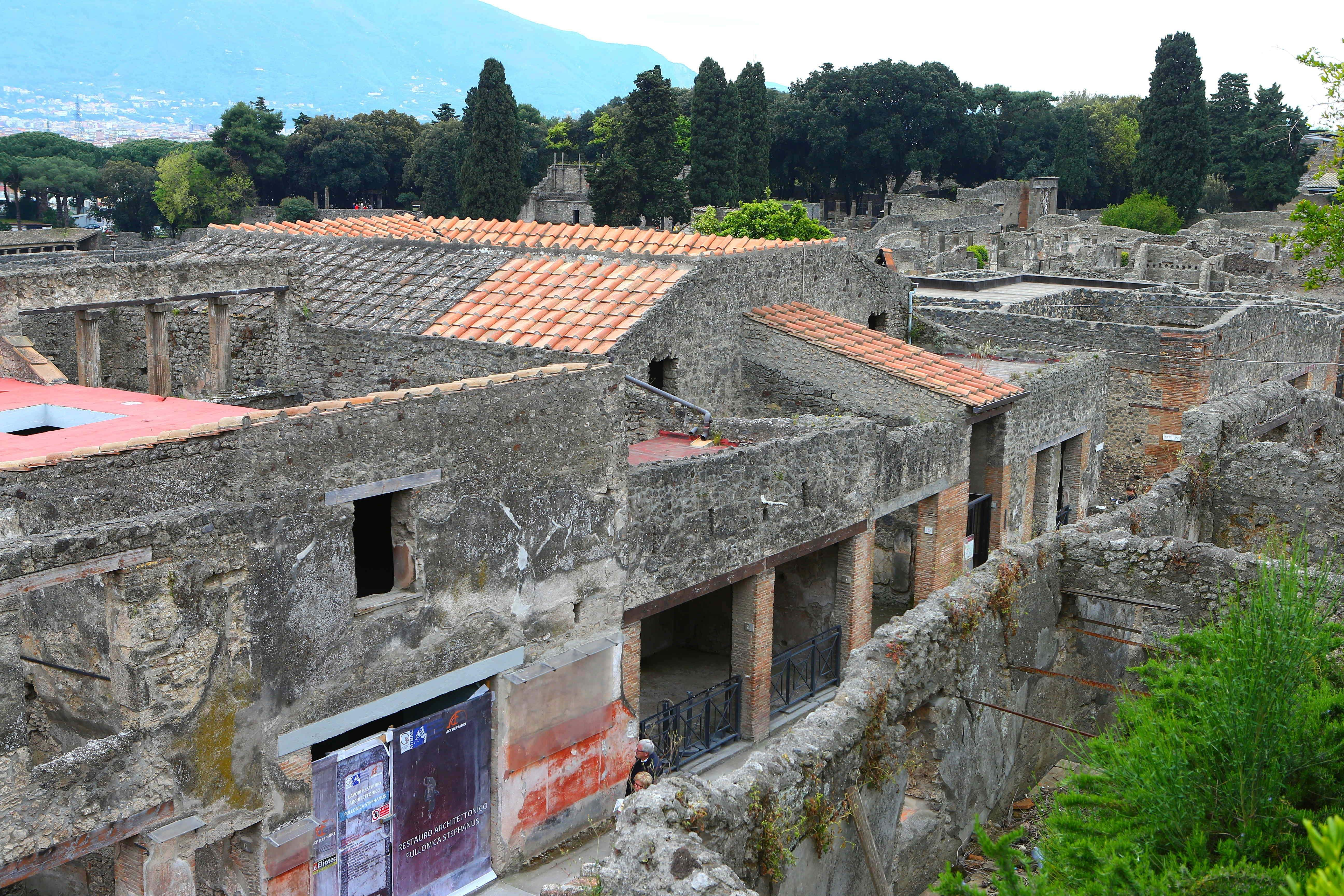 The ancient Roman city of Pompeii in southern Italy (Xinhua/Gong Bing/IANS)