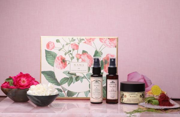 Essential skincare regime by Kama Ayurveda