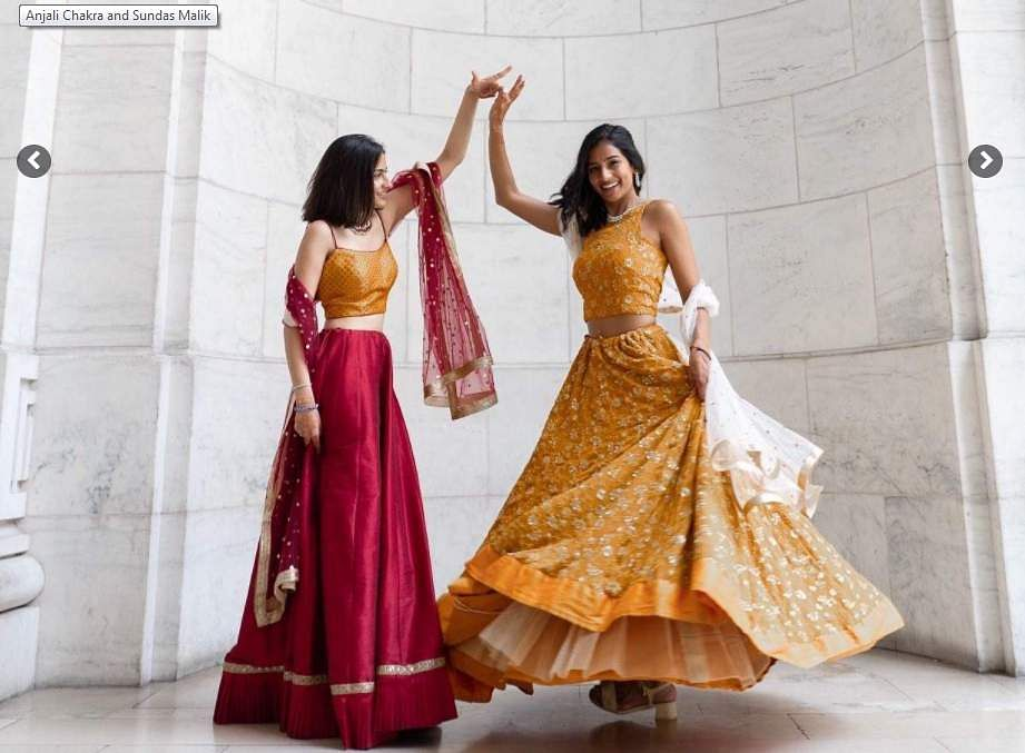 Sundas Malik and Anjali Chakra/ fashion goals