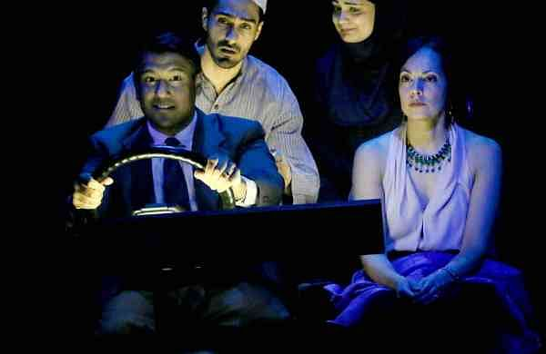 A still from the play. Picture by Jay Mandal