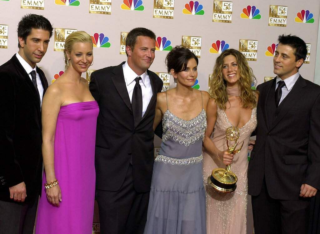 The Friends cast (AP Photo/Reed Saxon)
