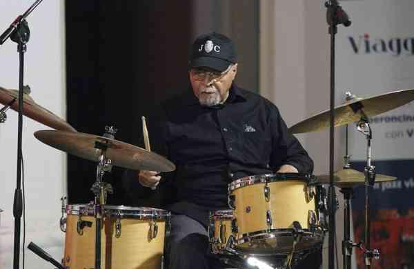 Drummer Jimmy Cobb (Giuseppe Iazzolino via AP)
