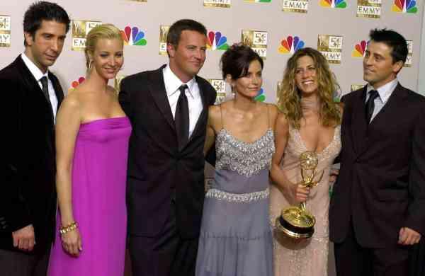 The Friends cast (AP Photo/Reed Saxon)