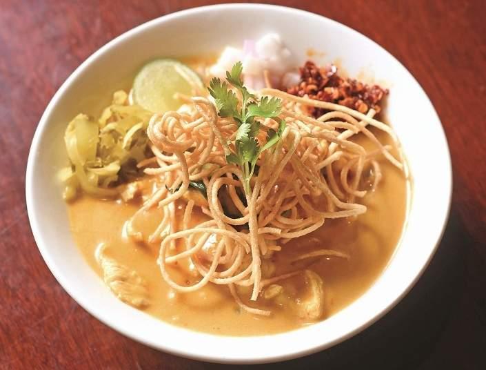 Khao Soi at Benjarong