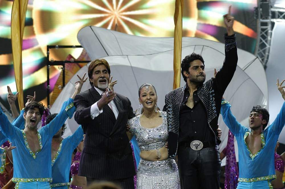The_Bachchans_at_IIFA_2009