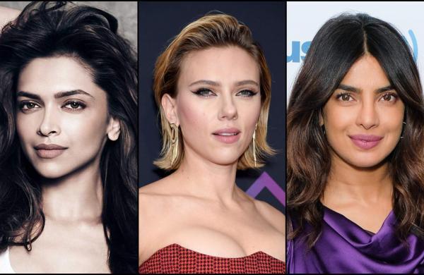 Deepika Padukone, Scarlett Johansson and Priyanka Chopra