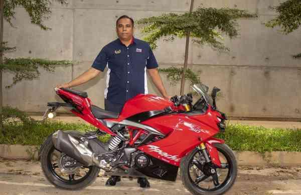 Meghashyam Dighole, Head of Marketing – Premium Segment, TVS Motor Company