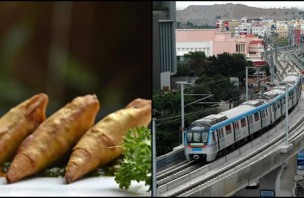 international snack festival in Hyderabad metro