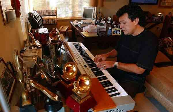 Latin songwriter Rudy Perez at his home in Miami Beach, Fla (AP Photo/J. Pat Carter)