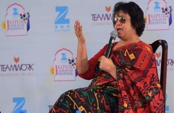 Taslima Nasreen (Photo: Ravi Shankar Vyas/IANS)