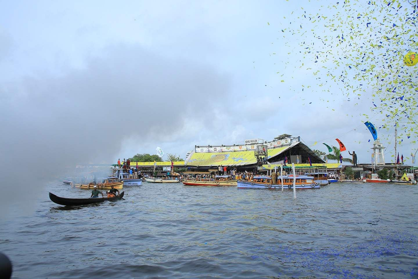 Mighty Oars (NCDC, Kumarakom) finished fourth with 4:30:28. Organised by Kerala Tourism, the CBL, with nine teams, features 12 rounds of races slated across Saturdays till November 23.