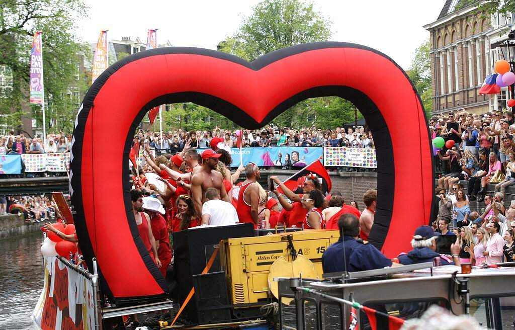 Amsterdam Pride Parade (AP Photo/Michael Corder)
