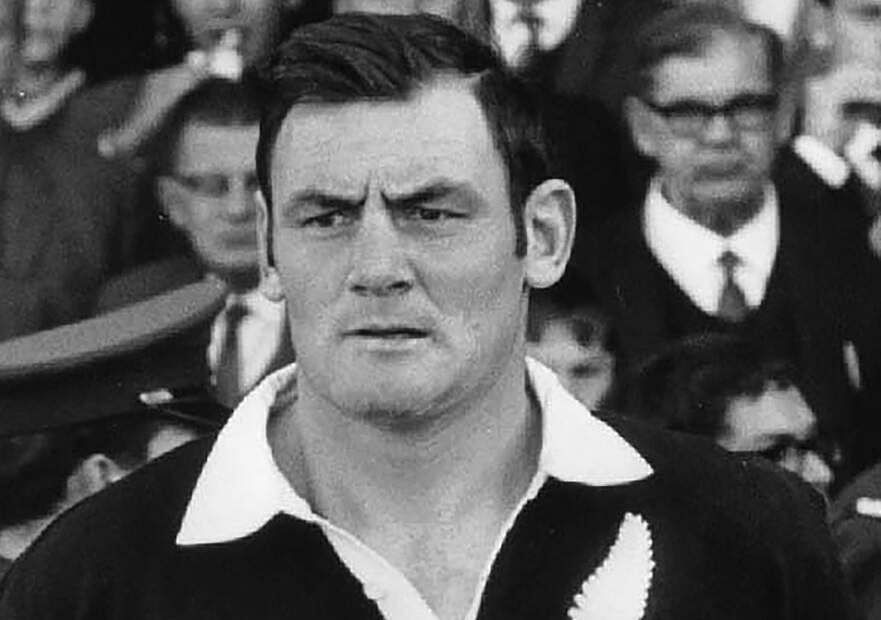 New Zealand All Black Brian Lochore (NZ Herald via AP)