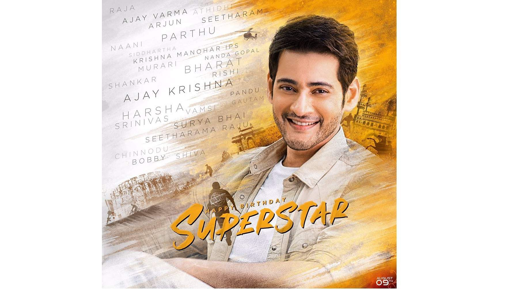 SuperstarMaheshBdayCDP trends on Twitter as Mahesh Babu's