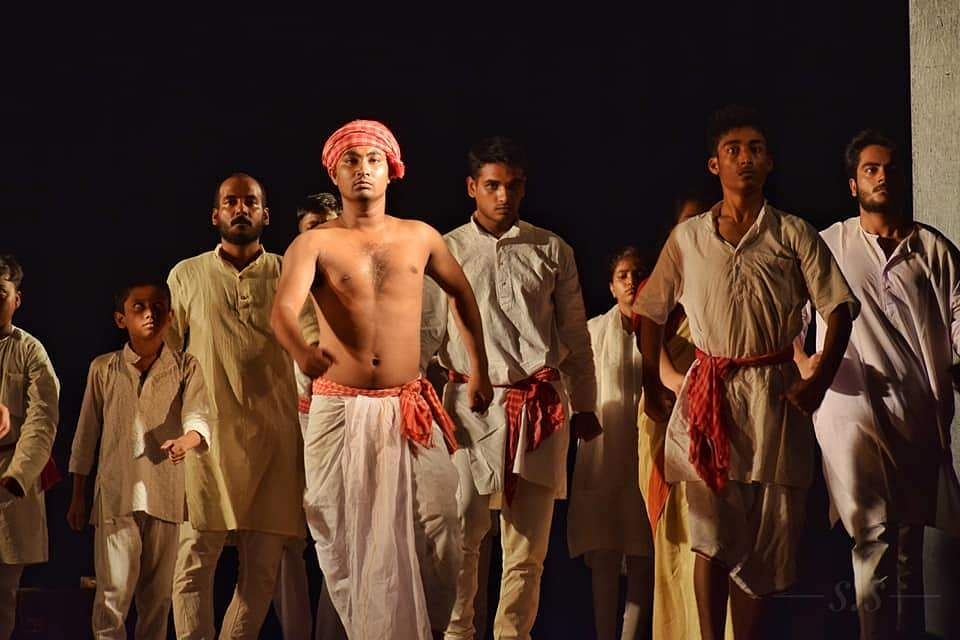 Jogesh Mime Academy is all set to stage Khudiram, a mime production based on the life of freedom fighter Khudiram Bose - at Minerva Theatre, Kolkata.
