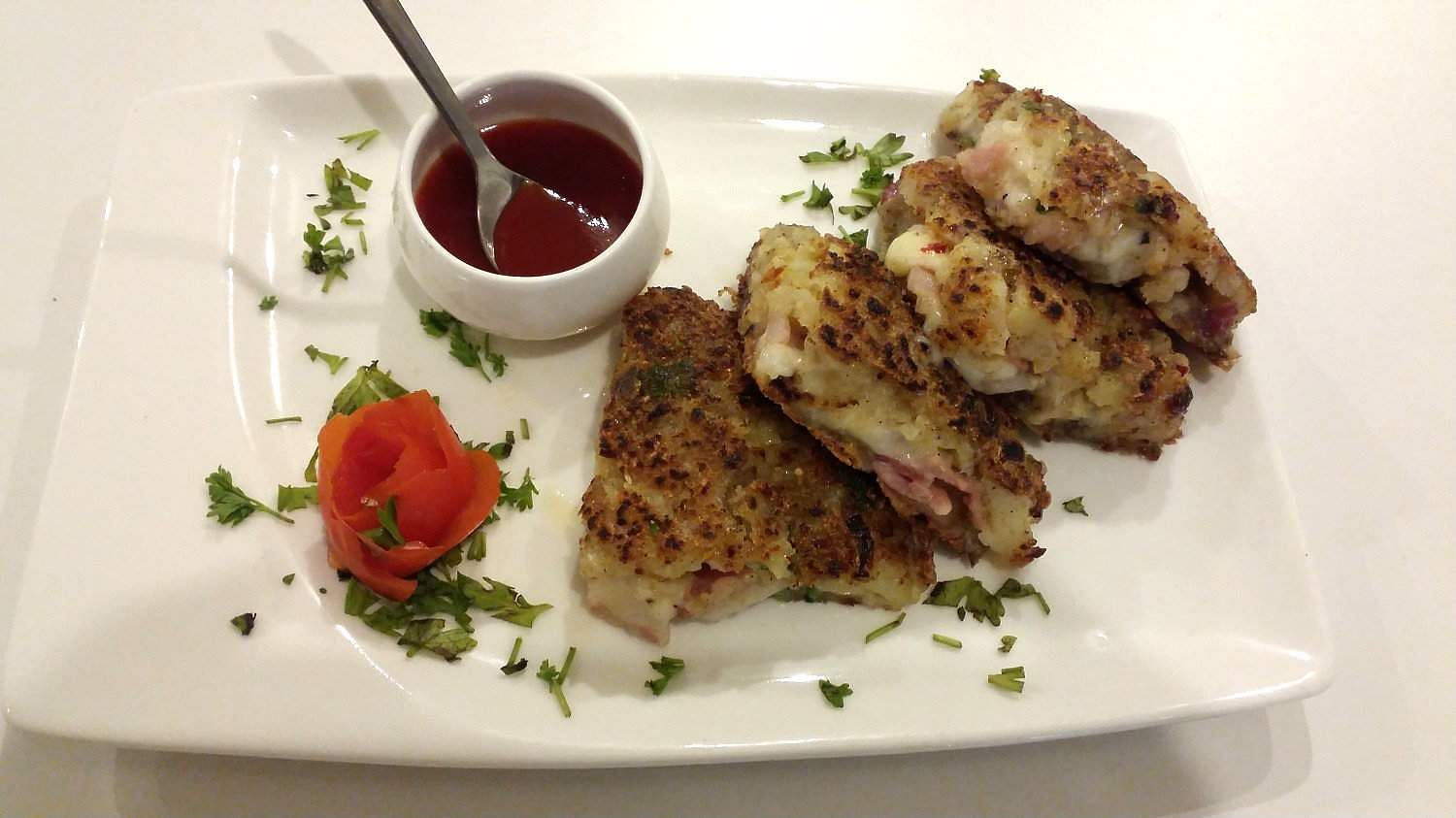 Bacon cheese rosti by The Food Storey