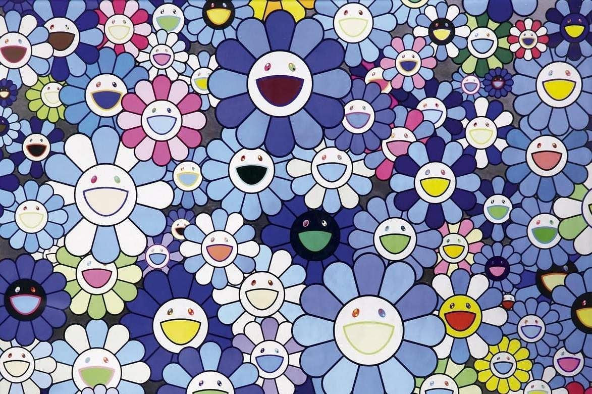 Blue Flower by Takashi Murakami (Source: AstaGuru)