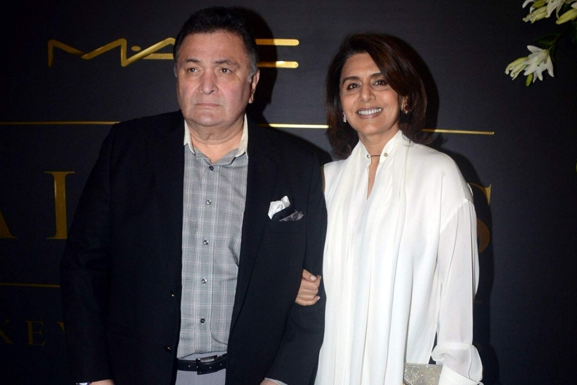 Rishi and Neetu Kapoor (Photo: IANS)