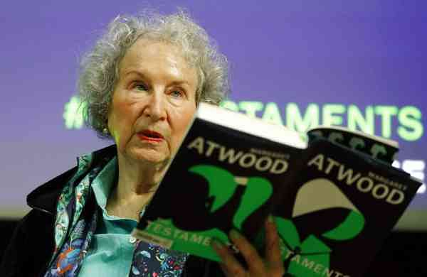 Margaret Atwood (AP Photo/Alastair Grant)