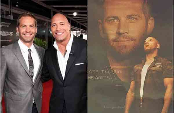 Vin Diesel, Dwayne Johnson share emotional posts on Paul Walker's on 46th birth anniversary
