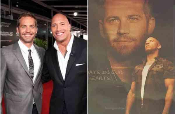 Vin Diesel, Dwayne Johnson share emotional posts onPaul Walker'son 46th birth anniversary
