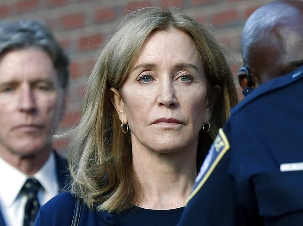 Felicity Huffman (AP Photo/Michael Dwyer)
