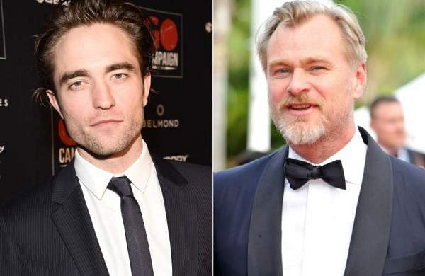 Robert Pattinson and Christopher Nolan