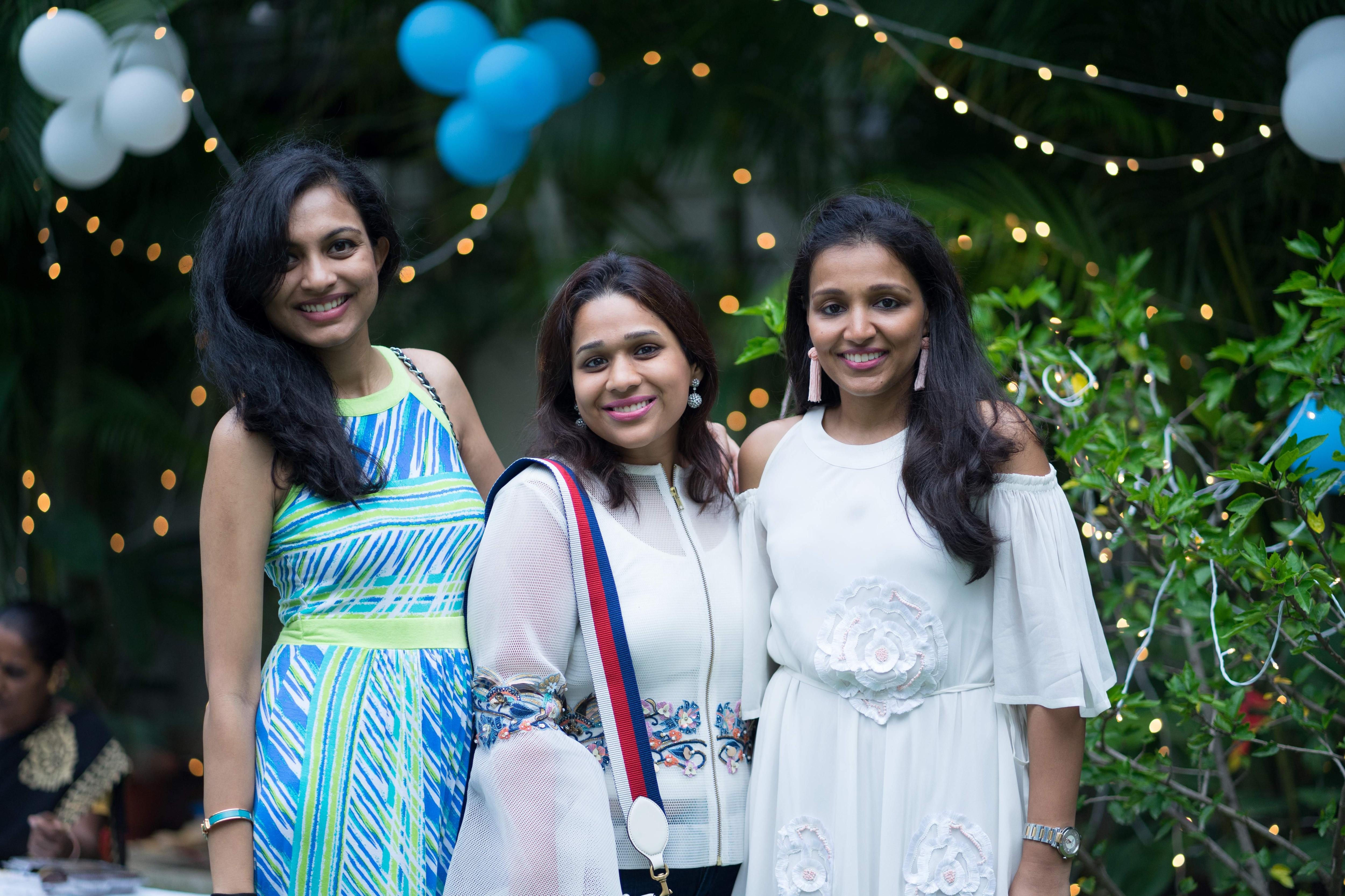 Ankita, Sakshi and Nandita