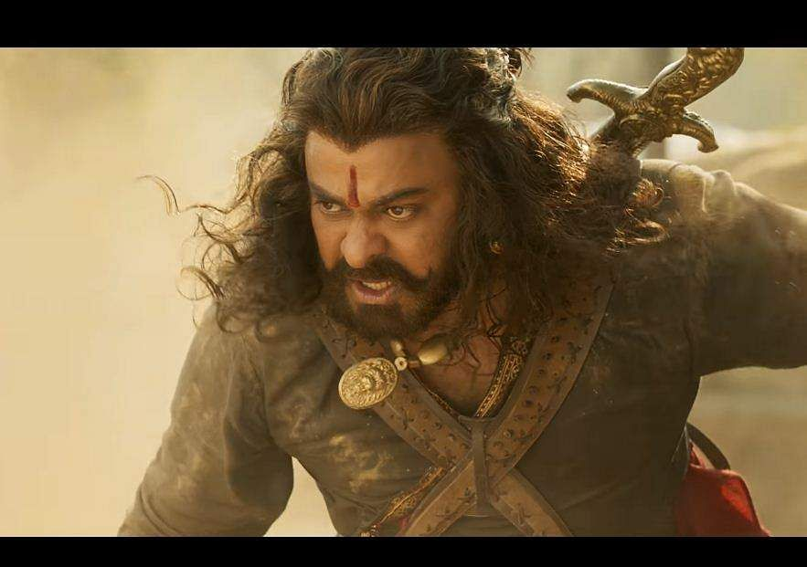 Chiranjeevi in Sye Raa Narasimha Reddy trailer