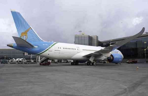 Air Tanzania at MIAL