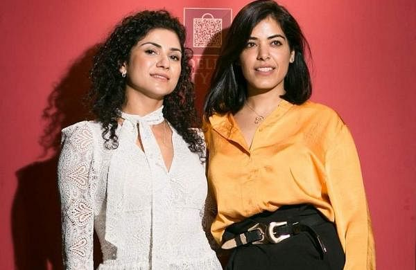 Avantika Bakshi and Malika Abhichandani at the Woodford Reserve Baccarat Edition in India launch on September 20 at Le Cirque, The Leela Palace, New Delhi.