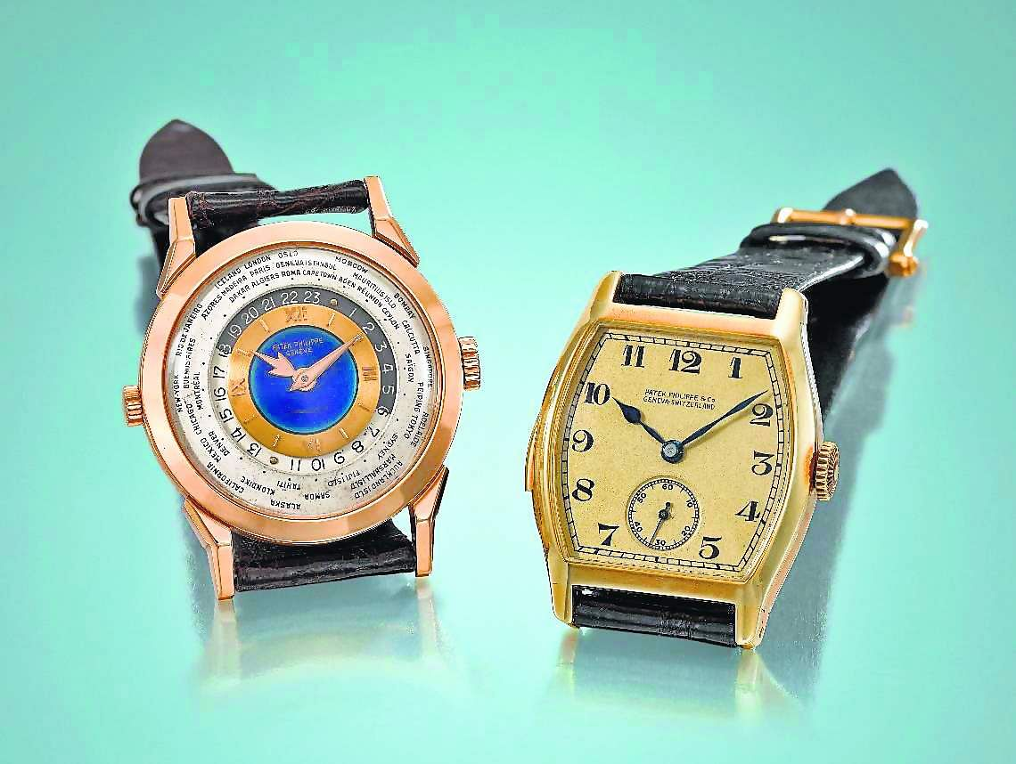Patek Philippe, ref. 2523 (1953) and Patek Philippe for Henry Graves (1927)