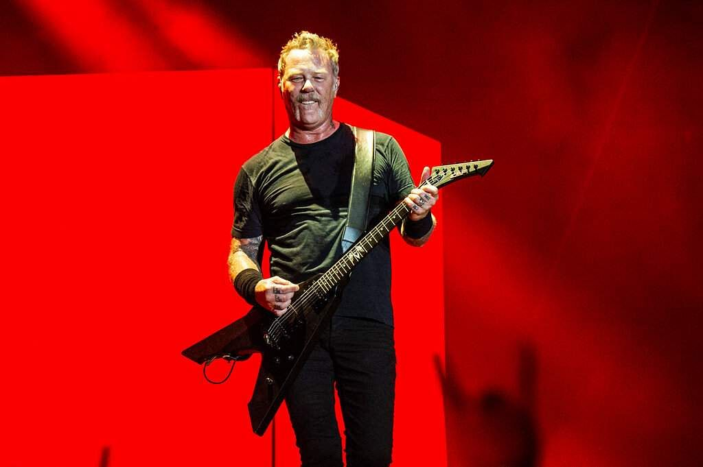 James Hetfield of Metallica (Photo by Amy Harris/Invision/AP)
