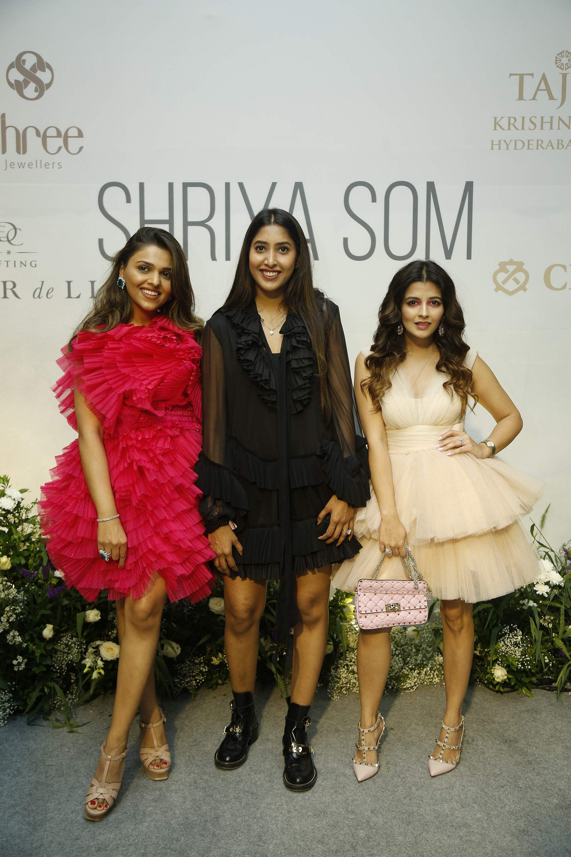 L-R_Tina_Kakkad,_Shriya_Som_and_Natasha_Luthra