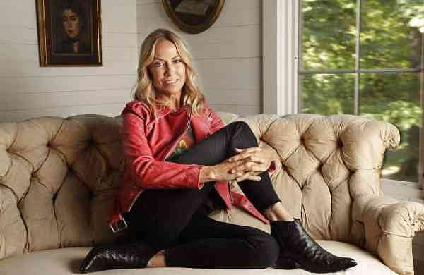 Sheryl Crow poses in Nashville, Tenn. to promote her latest album, Threads (AP Photo/Mark Humphrey)