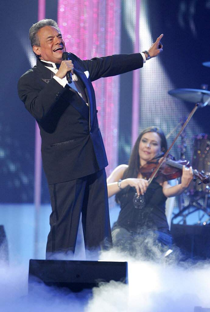 2011 file: Jose Jose performs at the Latin Billboard Awards, in Coral Gables, Fla. The Mexican crooner died on Sep 28, 2019 from pancreatic cancer. He was 71. (AP Photo/Carlo Allegri)