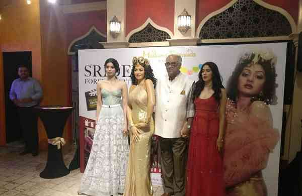 Sridevi's wax statue at Madame Tussauds