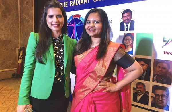 Paloma and Jane at The Radiant Wellness Conclave
