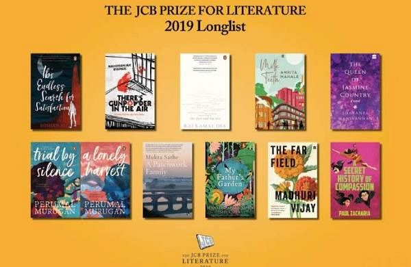 JCB Prize for Literature Longlist 2019