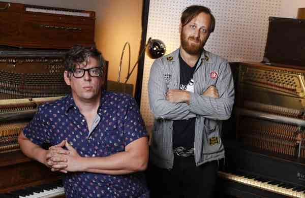 Patrick Carney and Dan Auerbach of The Black Keys (AP Photo/Mark Humphrey)