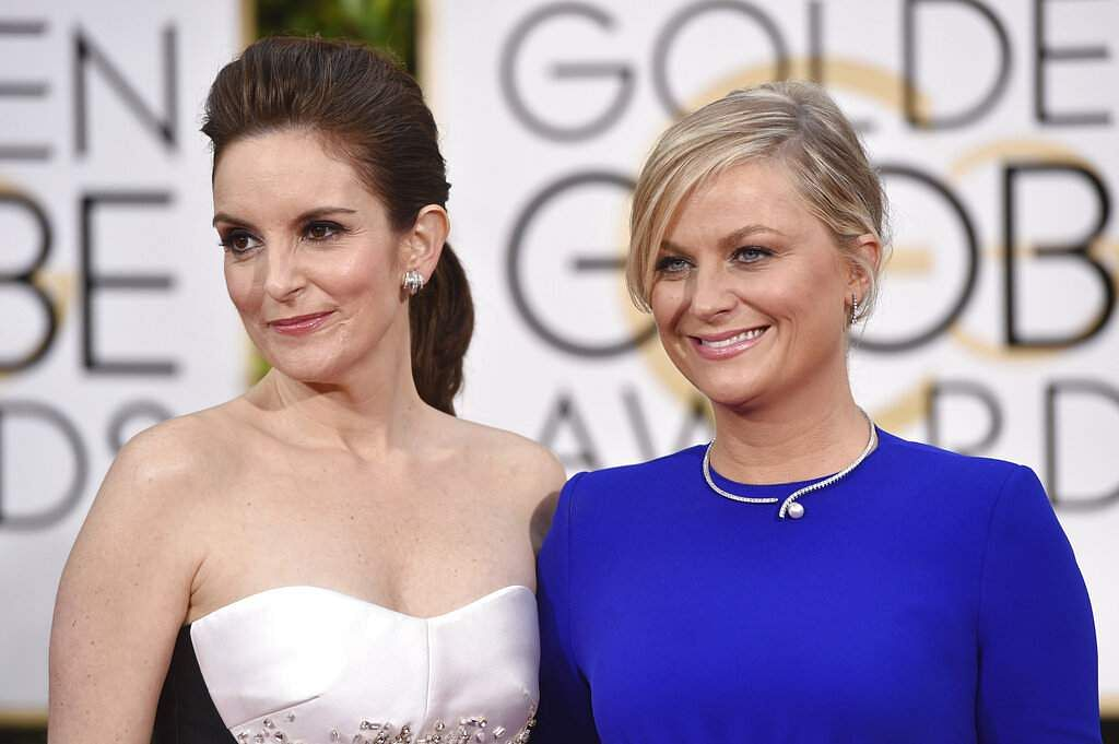 Tina Fey and Amy Poehler (Photo by John Shearer/Invision/AP)