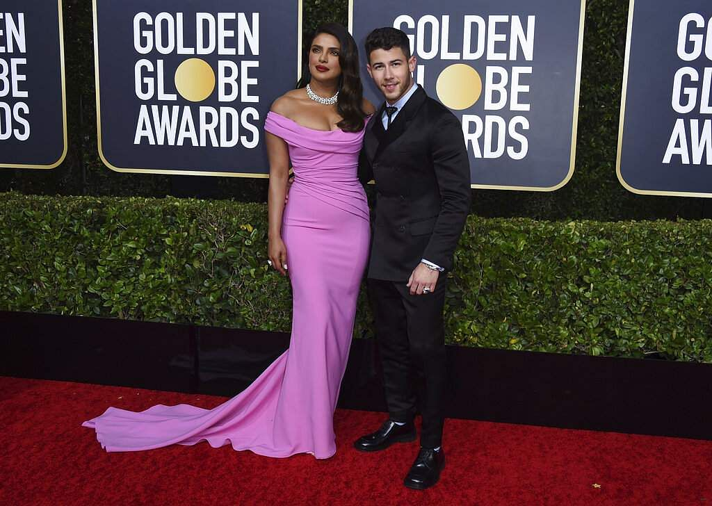 Priyanka Chopra and Nick Jonas (Photo by Jordan Strauss/Invision/AP)