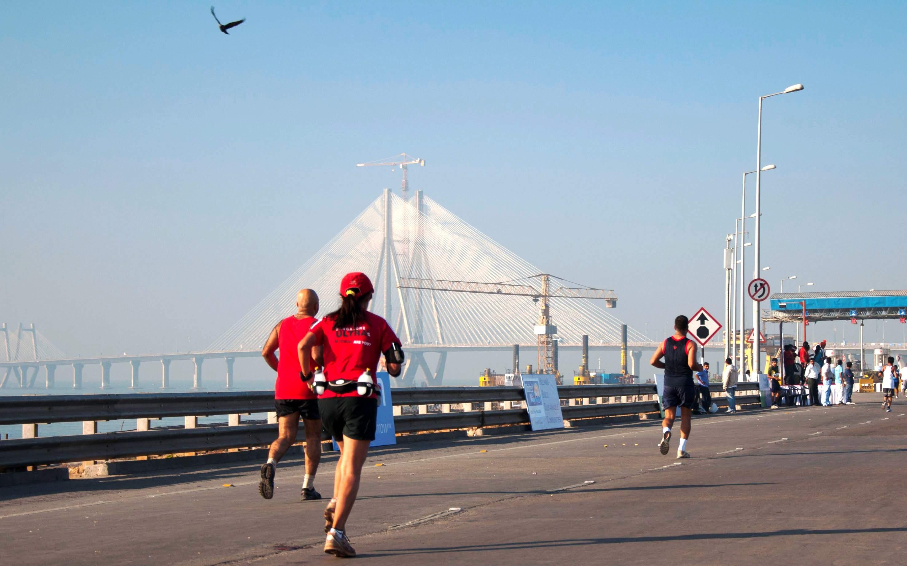 Marathon in Mumbai