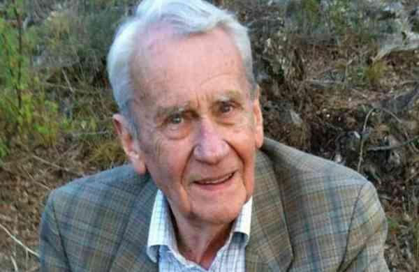 Christopher Tolkien (Source: Wikipedia)