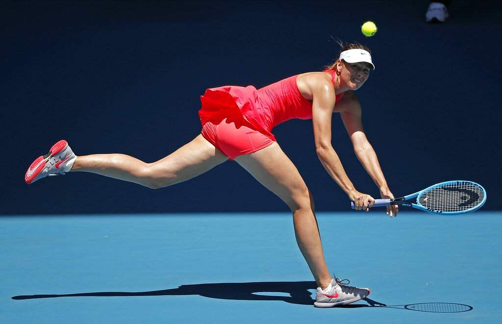 Maria Sharapova (AP Photo/Lee Jin-man)