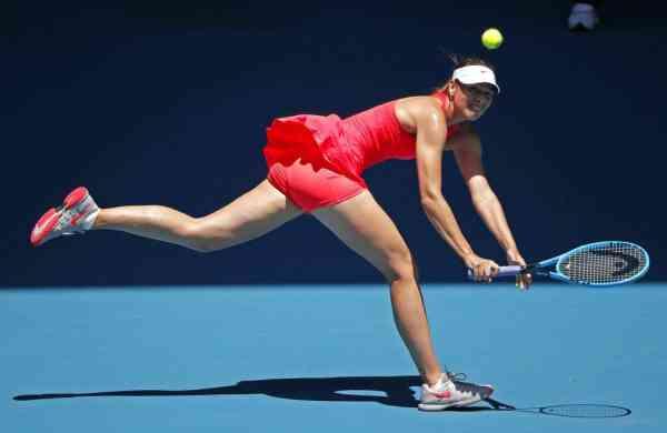 Maria Sharapova (AP Photo/Lee Jin-man)