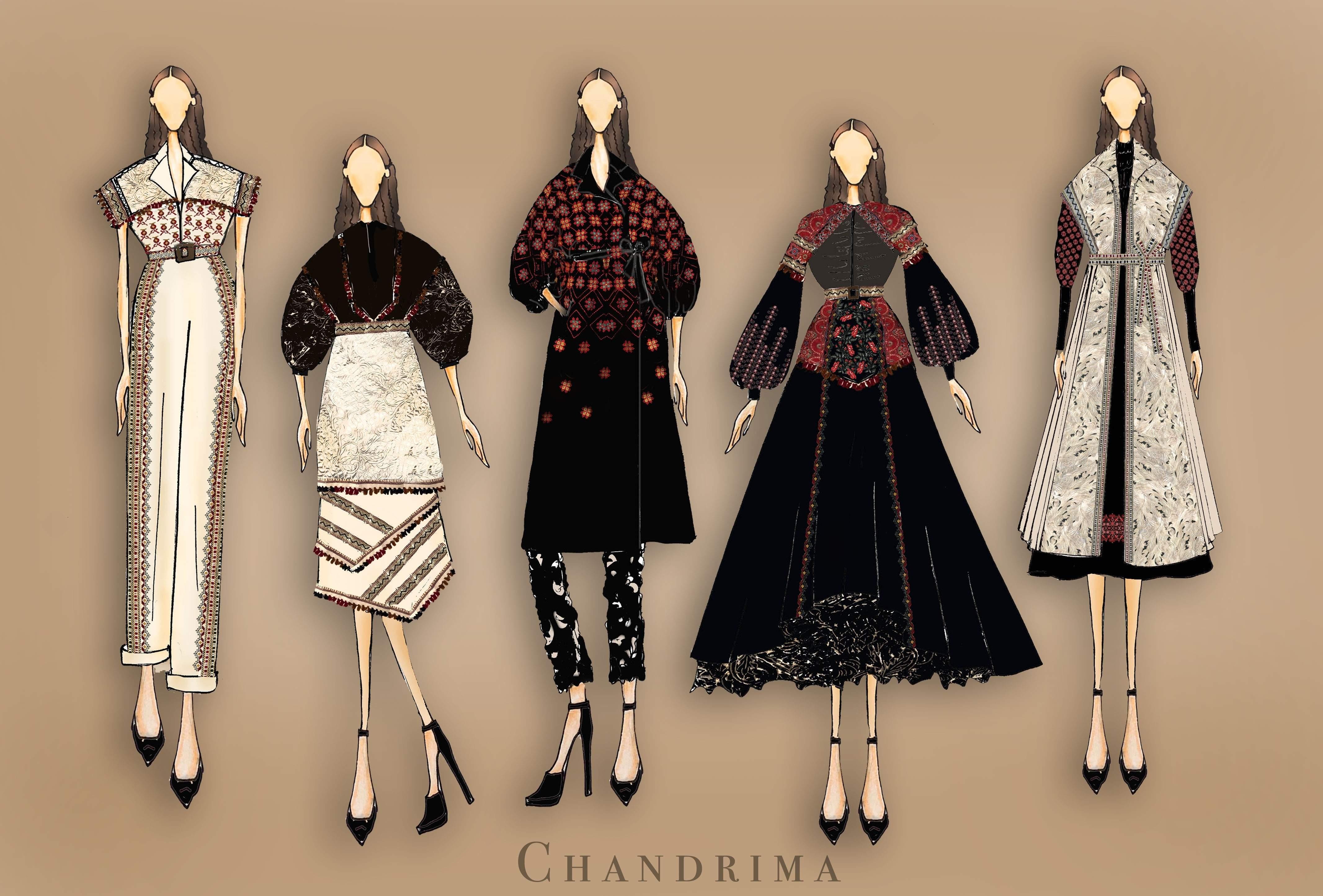 Fashion Special Lakme Gen Next Designer Chandrima Agnihotri Debuts With A Stunning Glocal Edit