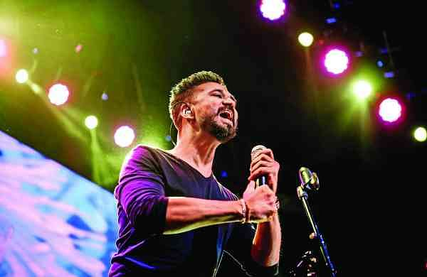 Amit Trivedi during the Indradhanush concert in Ahmedabad last year