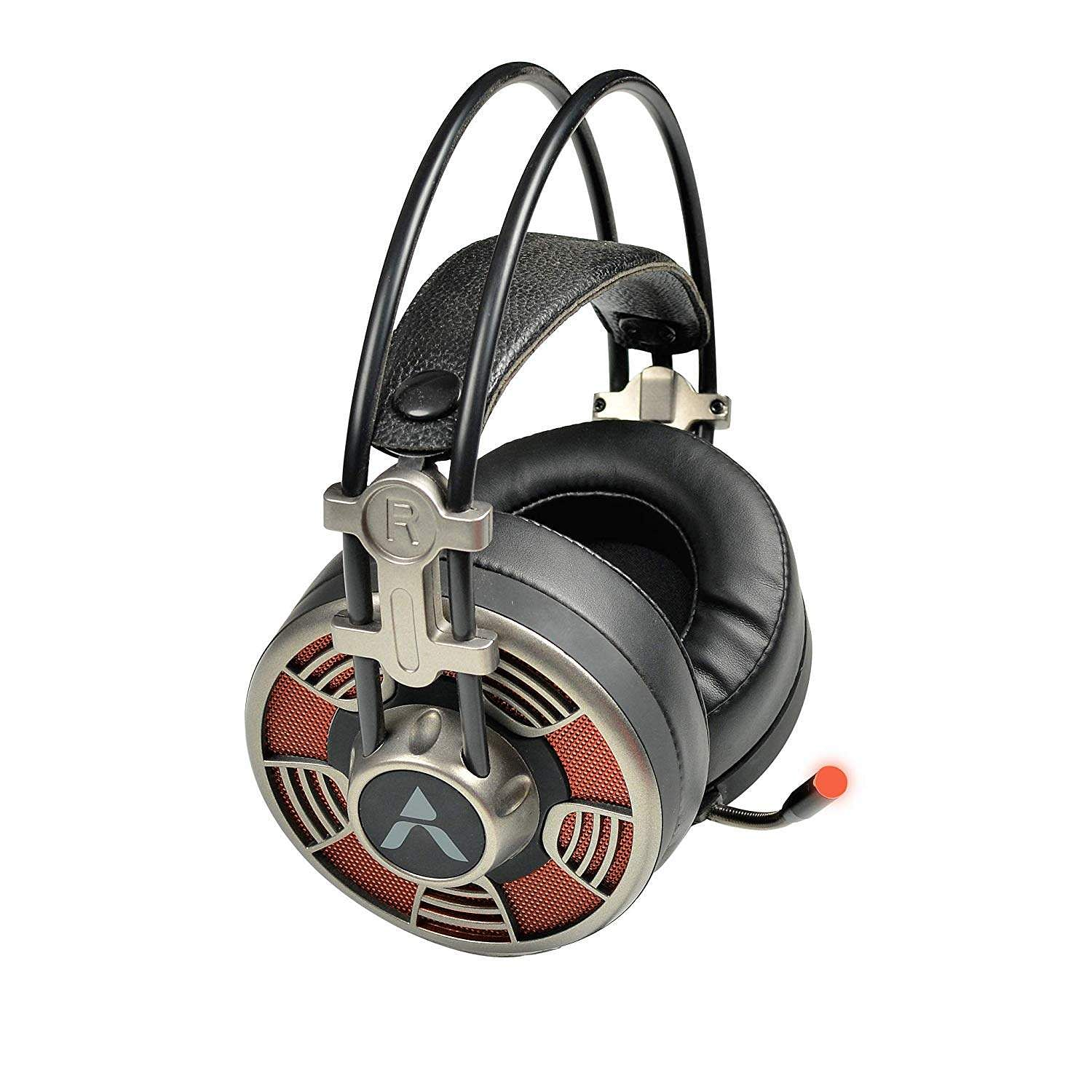 Adcom Vision Gaming Headphone: 50mm hi-fi driver, and omni-directional mic for best results as you game. Leather padded ear-pads, a 7-foot OTG cable, 7.1 True Surround sound. INR 1,590.